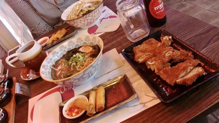 where to eat Ramen in Barcelona? Oishii