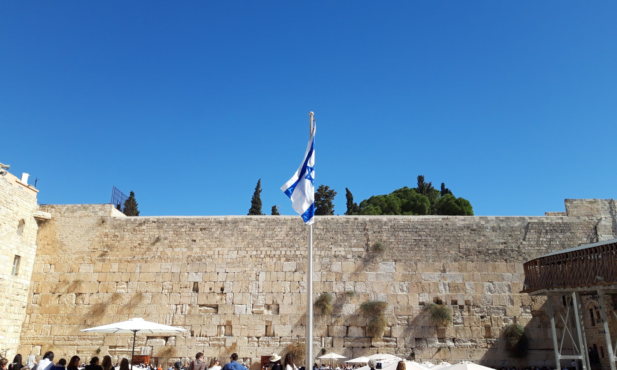 The Western Wall, Jerusalem, Israel 2018