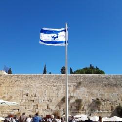 The Western Wall, Jerusalem, Israel 2018