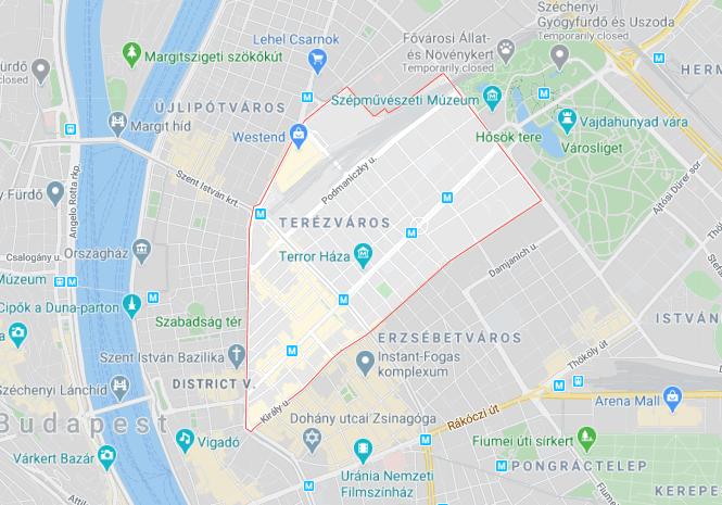 Budapest, District VI.
