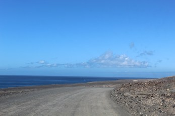 Dirty road to Cofete Beach
