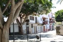 Canary balconies in Pájara