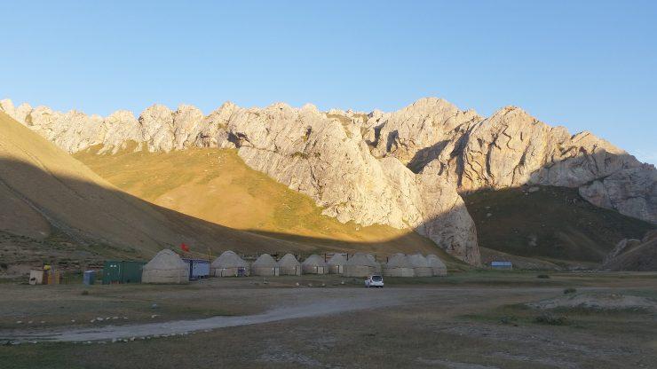 Nomadic camp in Kyrgyzstan