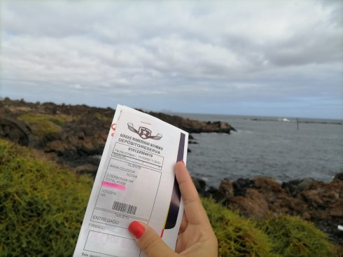 Ferry tickets by Lineas Romero