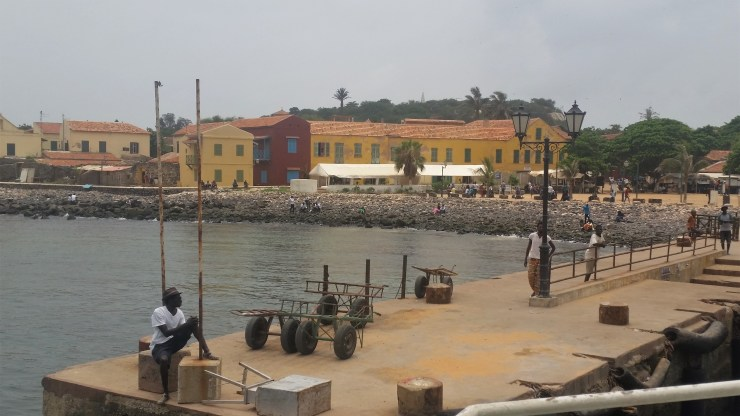 Harbor of Island of Gorée