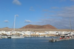 Arriving to La Graciosa