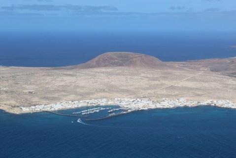 La Graciosa from Lanzarote, Mirador del Rio