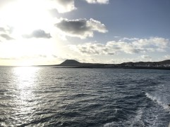 Panorama on the ferry route