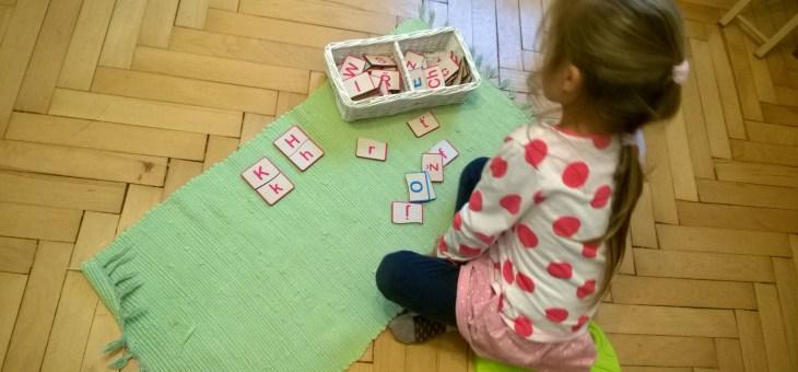 Velká – malá písmena puzzle
