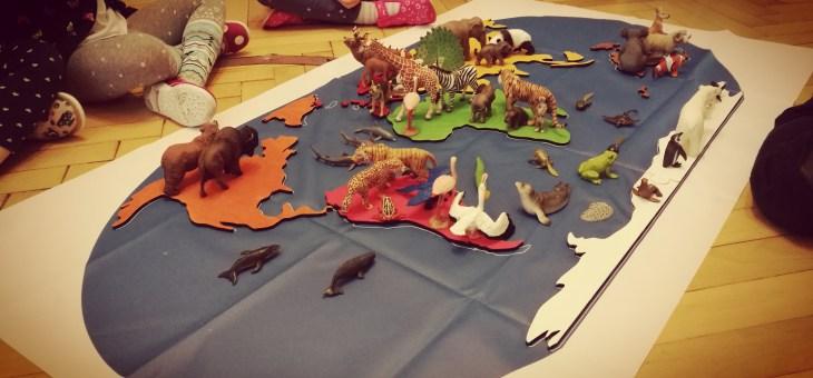 Zvířátka a kontinenty