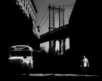 New York (Manhattan Bridge), Gabriele Croppi, Metafisica del Paesaggio Urbano
