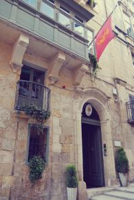 Palazzo Prince d'Orange Valletta Malta Boutique Hotel Where to Sleep smartraveller blog