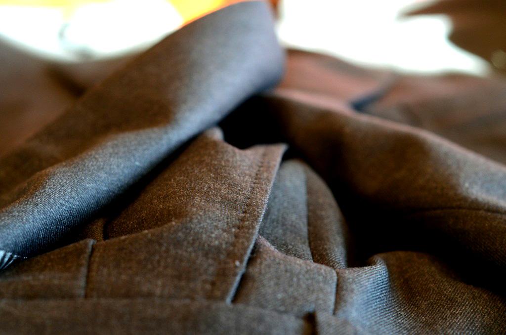 pick stitching on custom pants