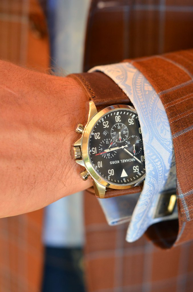 how to match your watch to your suit for a dressy occasion