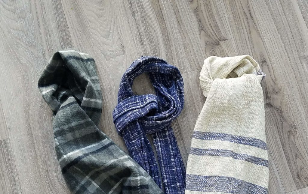 some cotton and woolen scarf options
