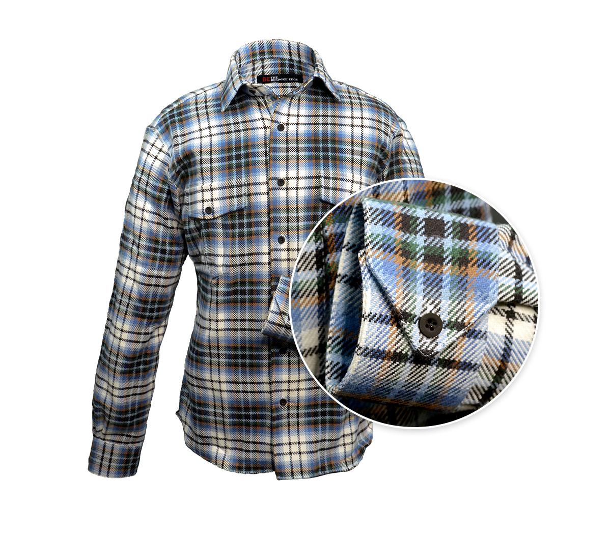 Slate River check flannel