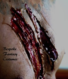Make-up and special effects by Mr.Bespoke of Bespoke Fantasy Costumes. 2016. Photography by Rose-Sky Journey Pieces.