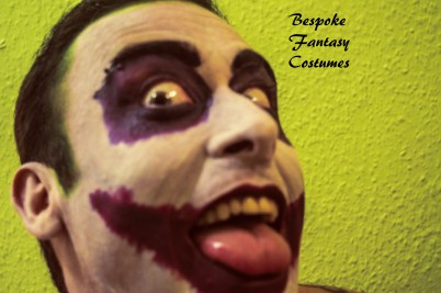 'I'm an agent of chaos.' The Joker make-up look. Make-up by Bespoke Fantasy Costumes. Photography by Rose-Sky Journey Pieces. Copyright 2016.
