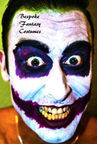 'I like you, but...' The Joker make-up look. Make-up by Bespoke Fantasy Costumes. Photography by Rose-Sky Journey Pieces. Copyright 2016.