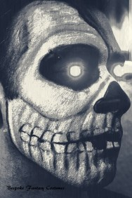 'Robotic skull' Skull special effects look. Make-up by Bespoke Fantasy Costumes. Photography and edit by Rose-Sky Journey Pieces. Copyright 2016.