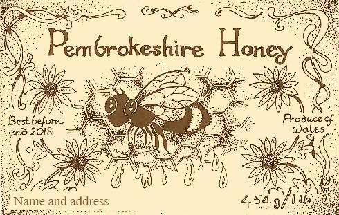 Personal honey label