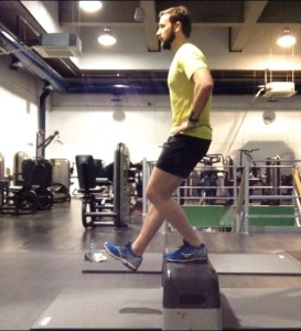 Running strength Exercise - Single Leg Squat. Bespoke Physiotherapy Covent Garden London