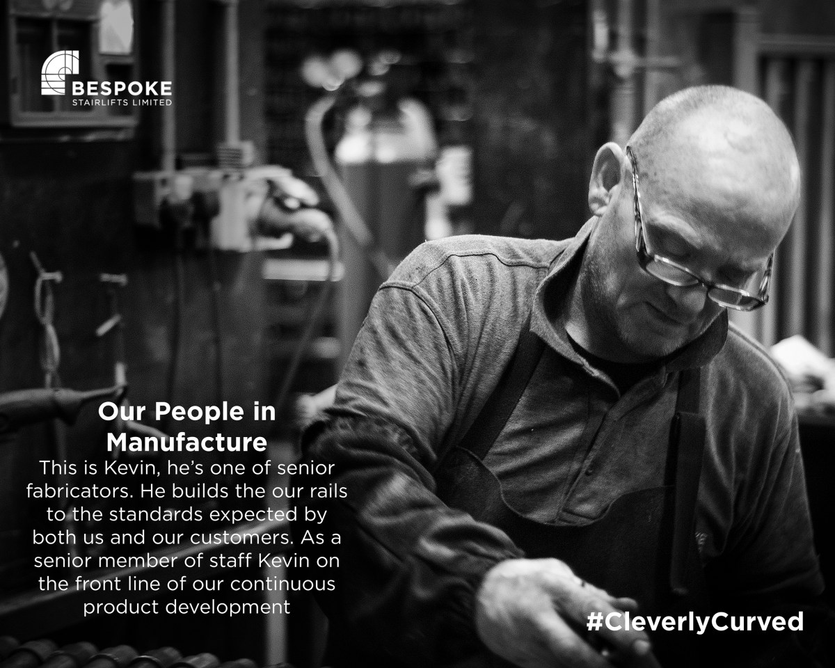 At Bespoke Stairlifts we trust in our people……..