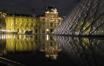 Reflections at the Louvre