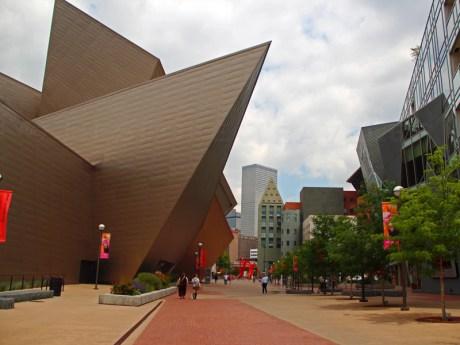 Hamilton building, Denver Art Museum