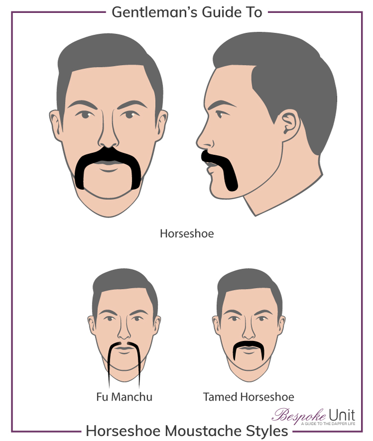 How To Properly Grow Amp Style A Horseshoe Moustache Mens