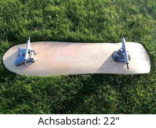Soulboardiy SWELLDECK - Performance Deck für Swelltech Achsen (Körpergröße 1.50m bis 1.95m)