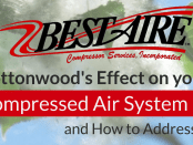 Cottonwood's Effect on Air Compressors