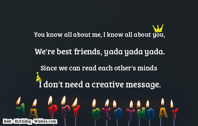 Top 60 Birthday Wishes For Best Friends Happy Birthday Best Friend