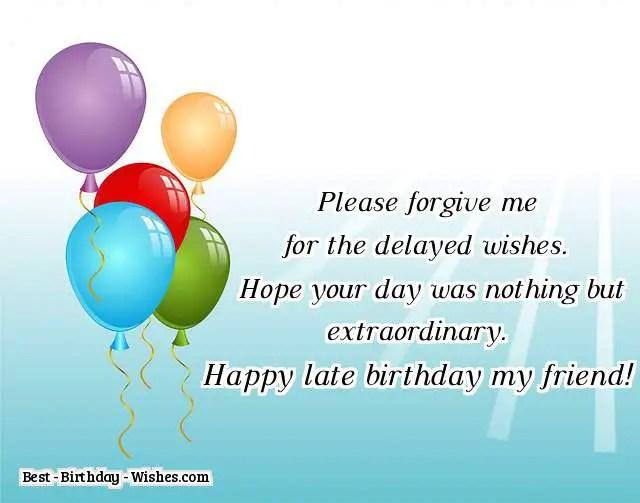 42 Belated Birthday Wishes Happy Belated Birthday