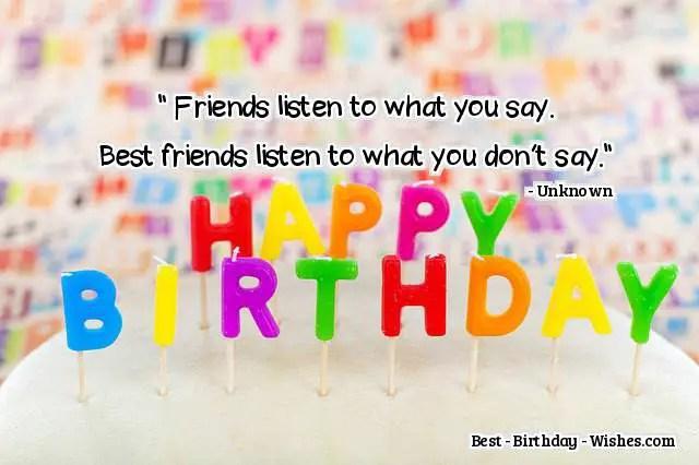 Top 60 Birthday Wishes For Best Friends Happy Birthday Best Friend
