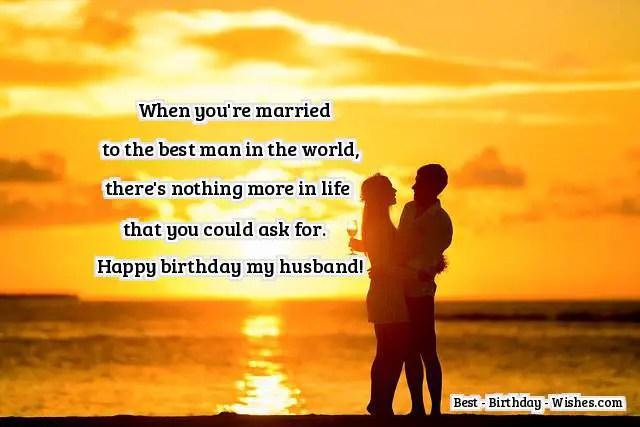 Happy Birthday Husband Romantic ~ Birthday wishes for husband happy birthday husband