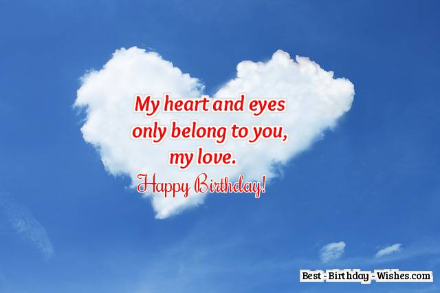 Favoloso 42 Birthday Wishes for Boyfriend - Funny & Romantic Messages for Him MF62