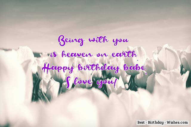 42 Birthday Wishes For Girlfriend Cute Funny Amp Romantic
