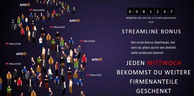 Crowd1 Streamline Bonus