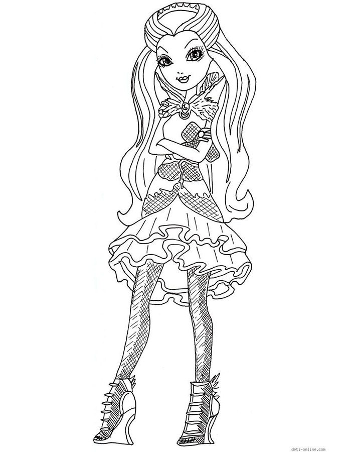 coloring ever after high download and print coloring pages
