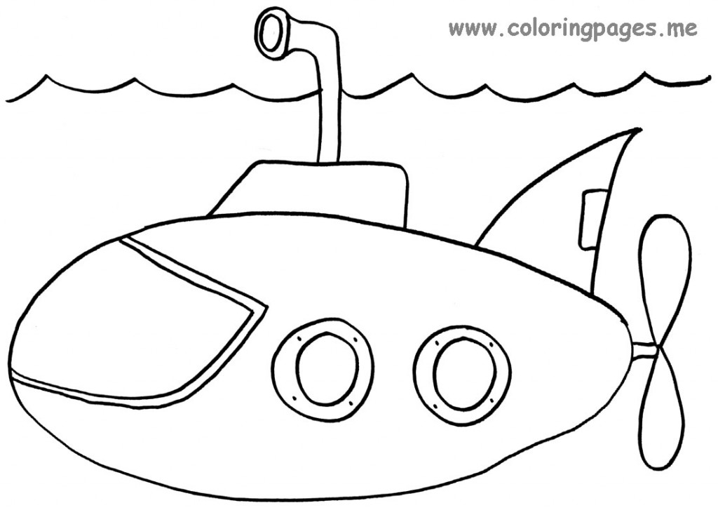 submarine coloring pages 14 jpg