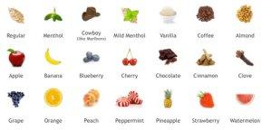 SmokeTip Flavors