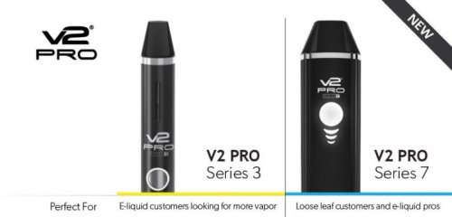V2 Pro Series 3 and Series 7 vaporizers