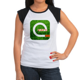 iVape in the Grass T-shirt from Vaper Design Studio