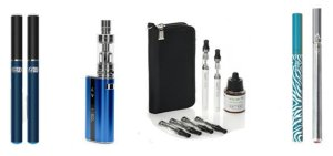 three popular vape pens and mods
