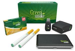 Green Smoke Express Ecigarette Kit for beginner vapers