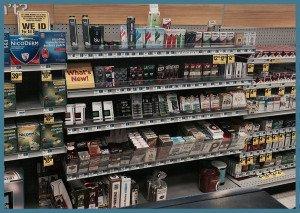 Drug store convenience store ecigarettes