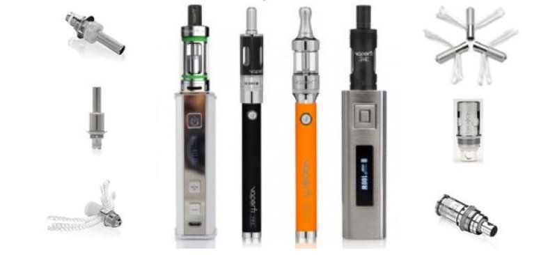 Ecigarette Vaporizers and Atomizers