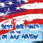 Where to Find the Best Independence Day ECig and ELiquid Sales
