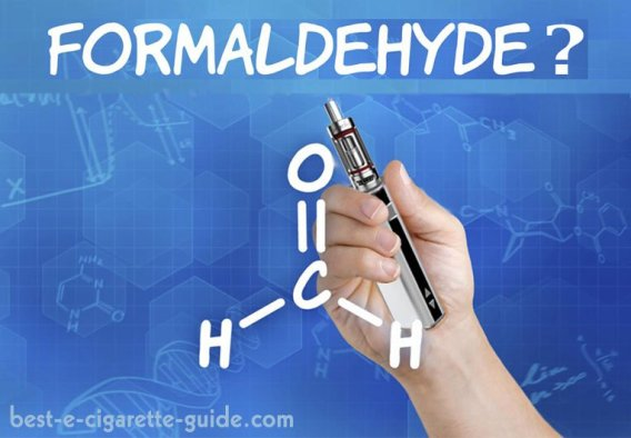 Formaldehyde in E-Cigarettes Title Image